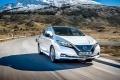 Photograph of a Nissan Leaf