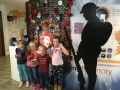 Local schoolchildren at the Dungeness Visitor Centre's Be Creative event themed around Remembrance