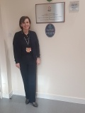 Visitor Centre guide, Lorna Campbell, who conducted the five-star tour on the day of the Visit Scotland visit