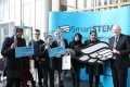 Pupils from Holyrood Secondary School in Glasgow at the SmartSTEMs event at Glasgow Kelvin College