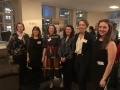 Photo caption: Speakers at the Sizewell C women's network launch, LtoR: 