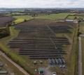 Image of a solar farm
