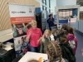 Pupils from Law Primary at the EDF Energy stand at the SmartSTEMs Hamilton event