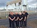 The visitor centre guides at Torness power station