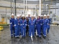 Students from Edinburgh College and EDF Energy employees during the Women in STEM day