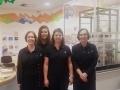Hunterston B visitor centre guides (l-r): Mandi McCallum, Laura Douglas, Salena Monir, Lorna Campbell