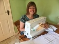 Debbie Ison from Hinkley Point C has joined the Taunton Scrubbers  group who are sewing scrubs and masks for frontline NHS staff.