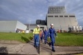 Workers at Hunterston B