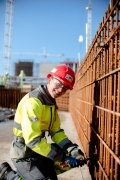 Stacey Sowden, Apprentice Steelfixer on the Hinkley Point C project