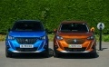 Two SUVs side by side - one EV and one the petrol/diesel equivalent