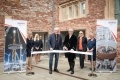The Visitor Centre was opened by the High Sheriff of Somerset Thomas Sheppard.