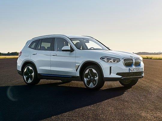 BMW iX3 front shot