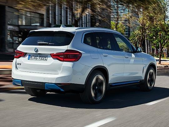 BMW iX3 rear shot