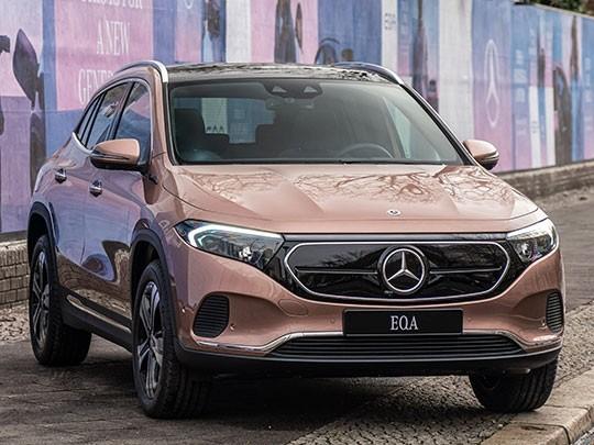 Mercedes EQA front shot