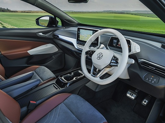VW ID.4 First Edition interior console