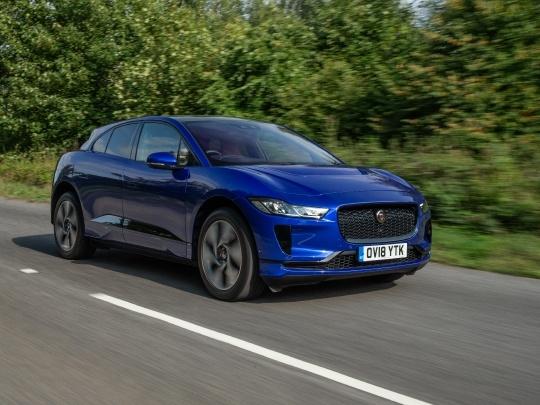 Jaguar I-Pace front view