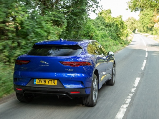 Jaguar I-Pace rear view
