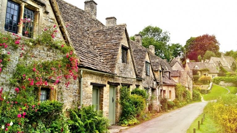 Picture of village street near Barnwood