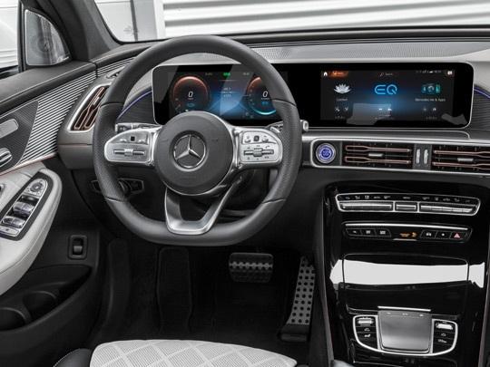 Mercedes EQC AMG Line interior