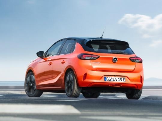 Vauxhall Corsa-e rear exterior view