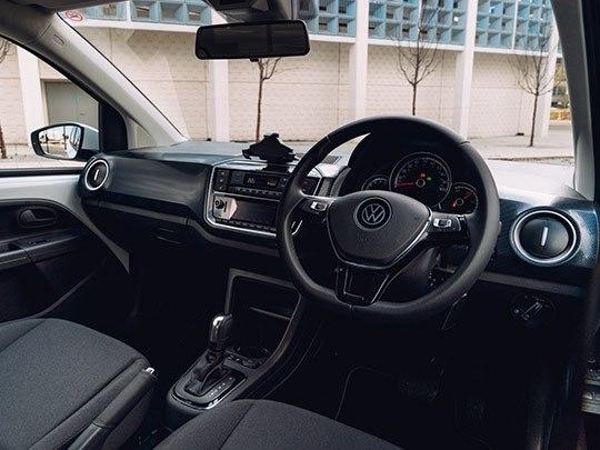 VW e-Up interior shot