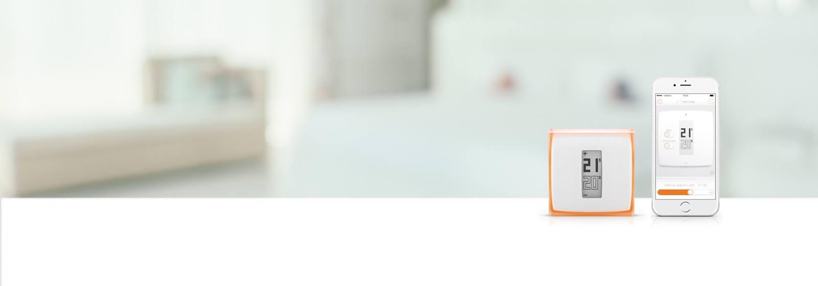 HeatSmart smart thermostat and mobile phone app
