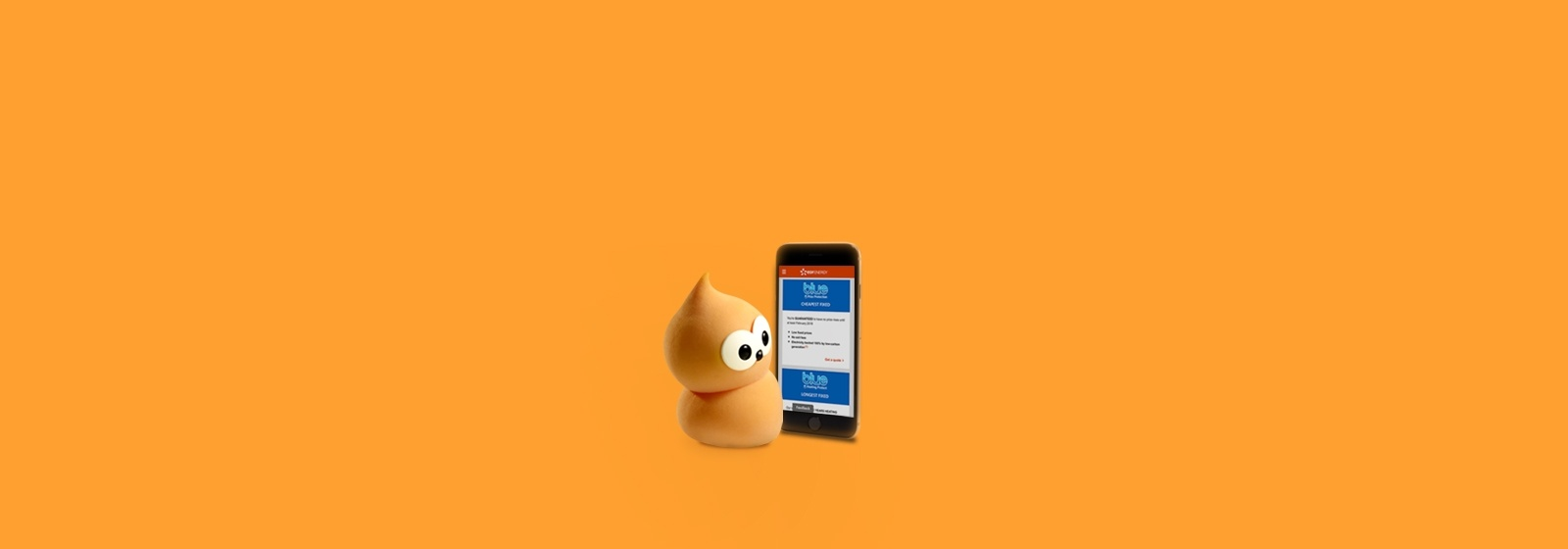 Zingy next to phone