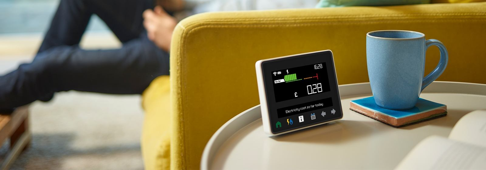 Guide for the Geo smart meter display