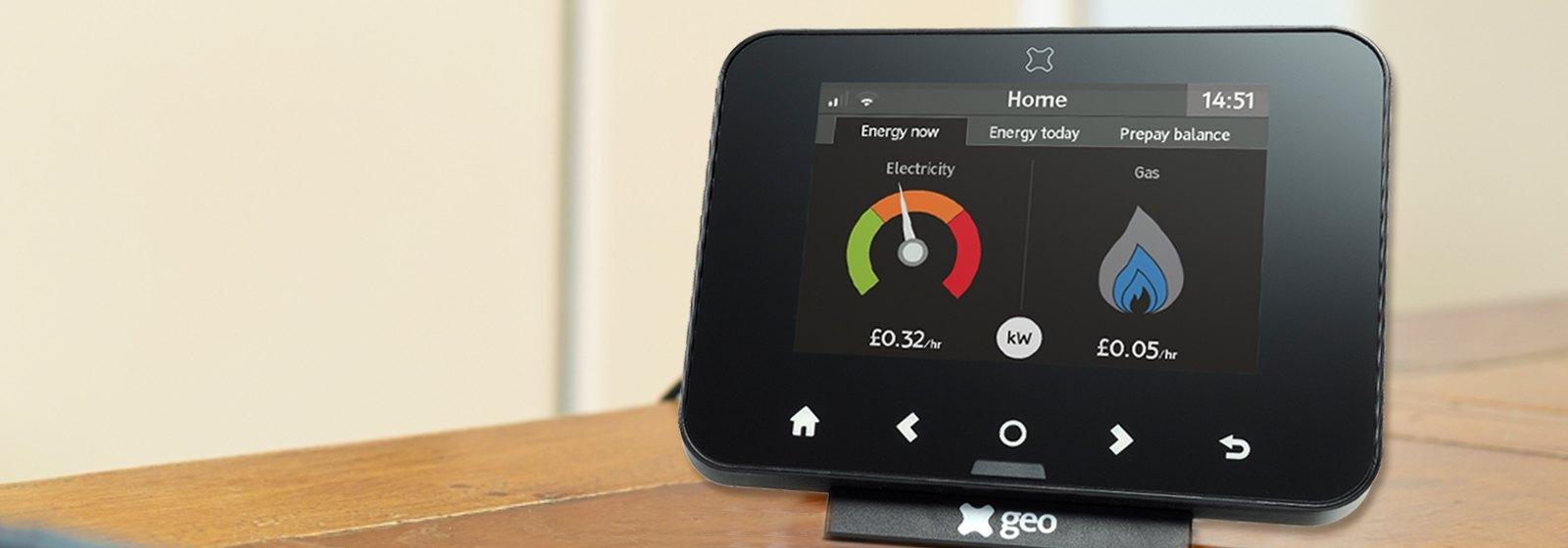 Smart meter display - Geo Trio
