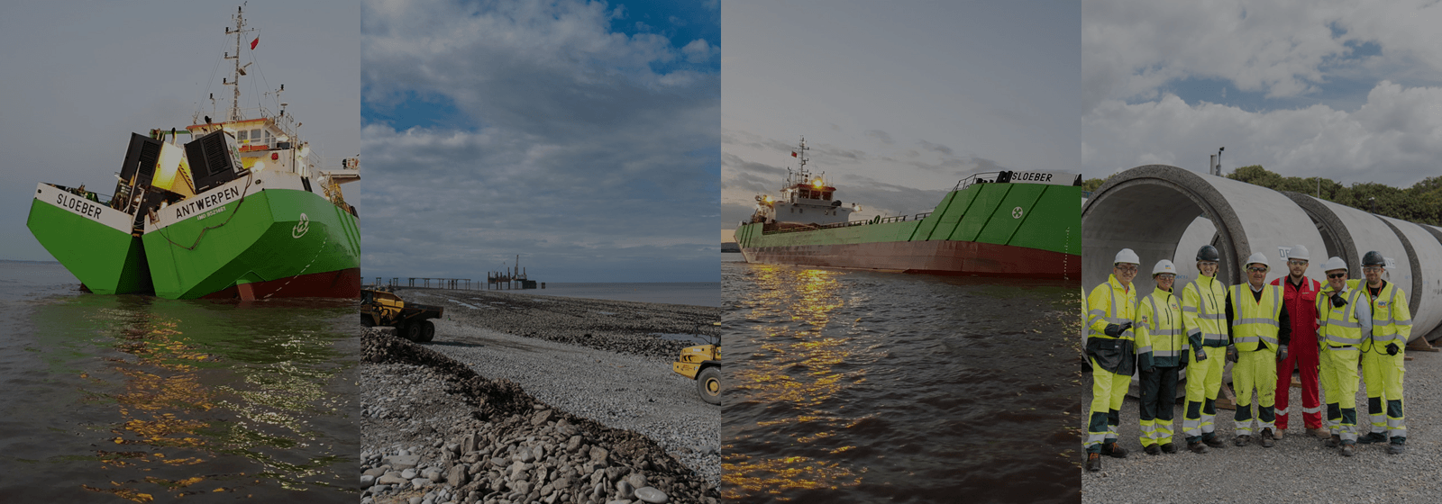 Dredging mud in the Bristol Channel | Hinkley Point C | EDF Energy