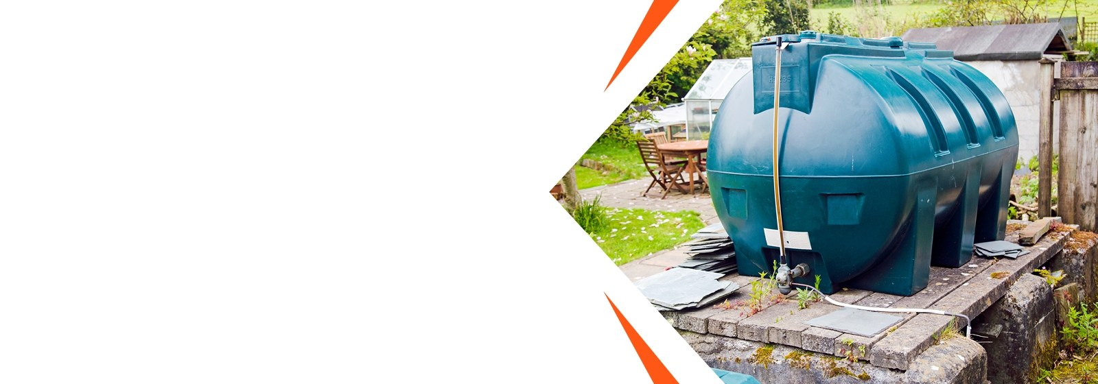 Hybrid air source heat pump for oil or LPG users