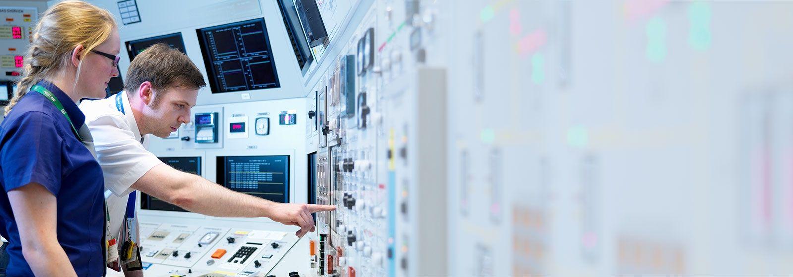 Sizewell B Edf Energy Inside A Nuclear Power Plant Diagram Control Room