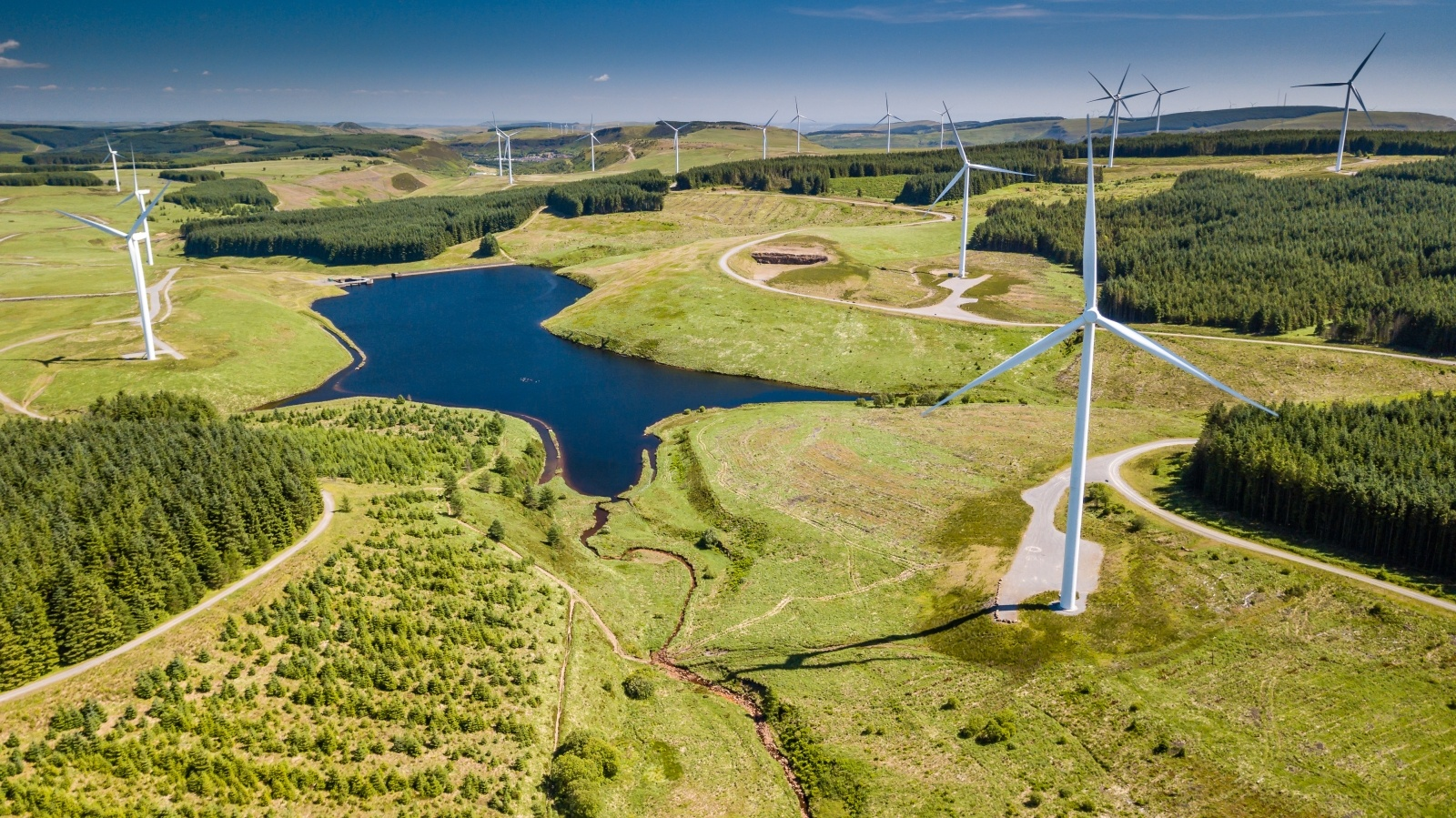 Wind turbines as source of green energy