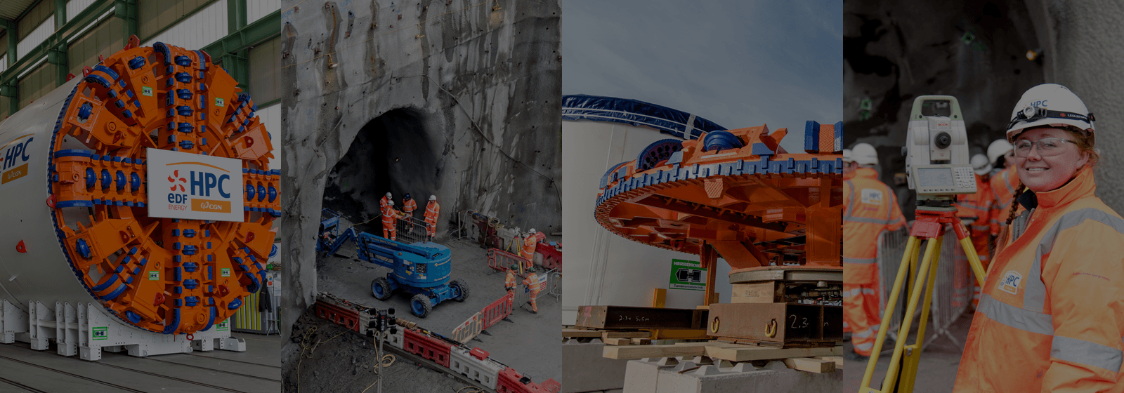 Tunnel boring at Hinkley Point C
