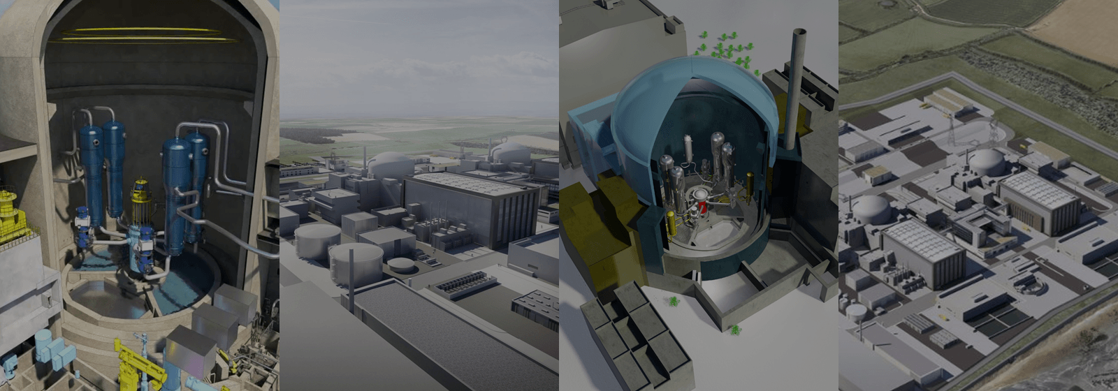 The reactor at Hinkley Point C