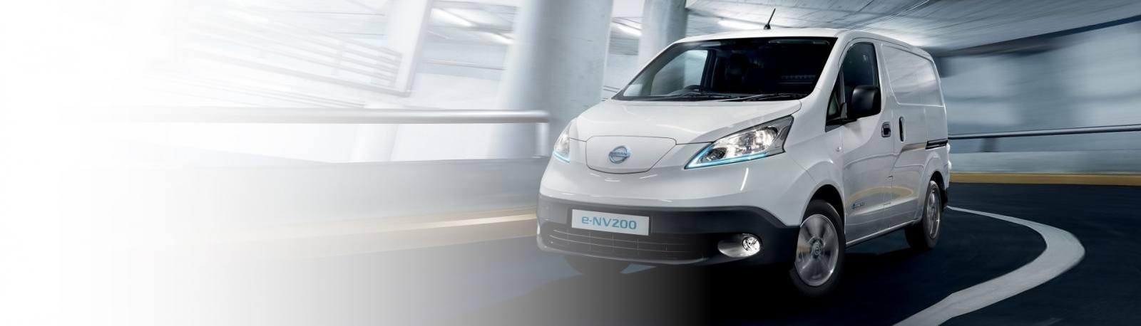 Nissan e-NV200 electric van for V2G Vehicle-to-Grid