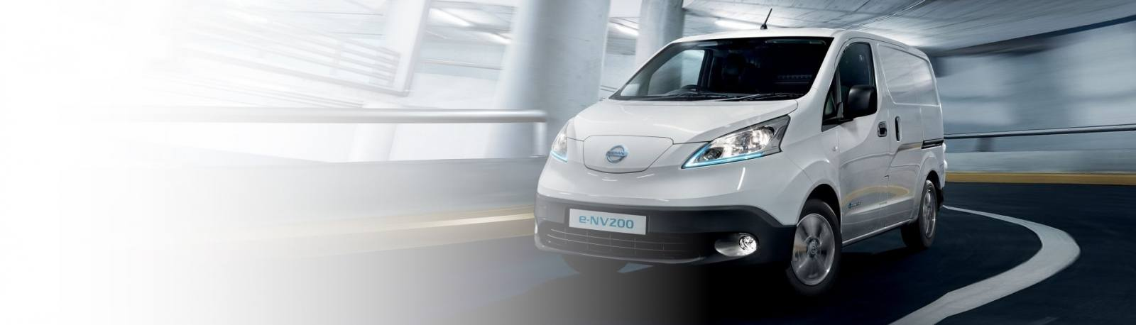 Nissan e-NV200 electric van for V2G Vehicle-to-Grid