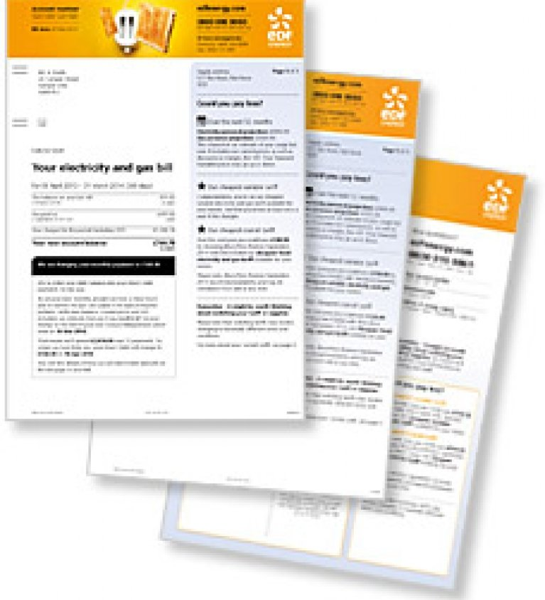 EDF Energy Bills