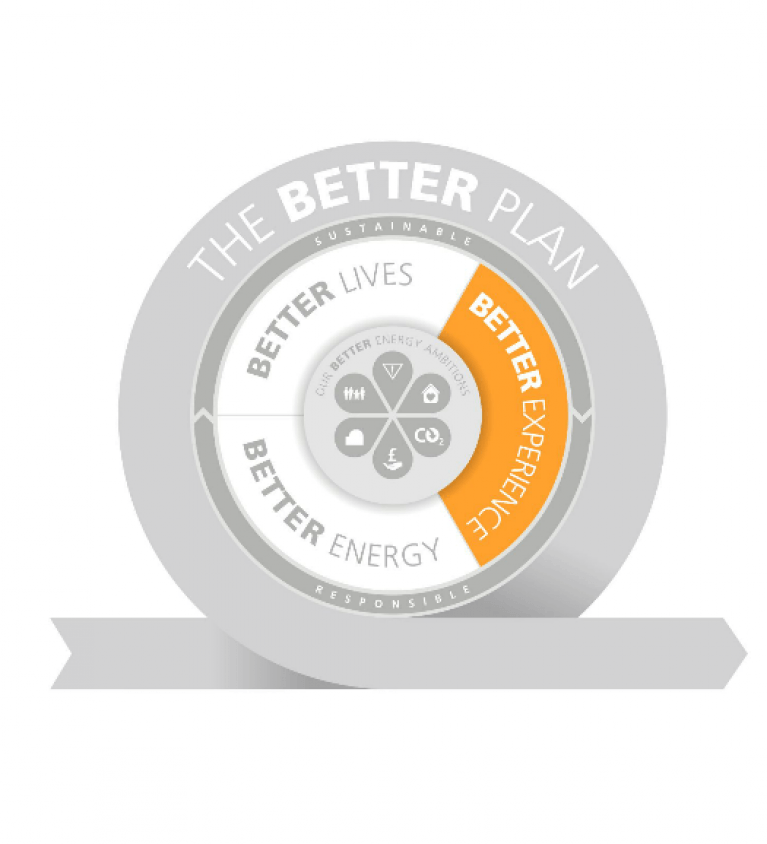 Better Experience graphic - The Better Plan - Sustainable Business strategy