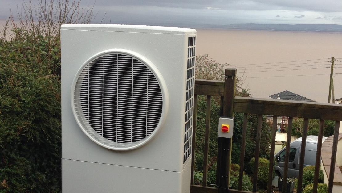 Air source heat pump outdoor unit