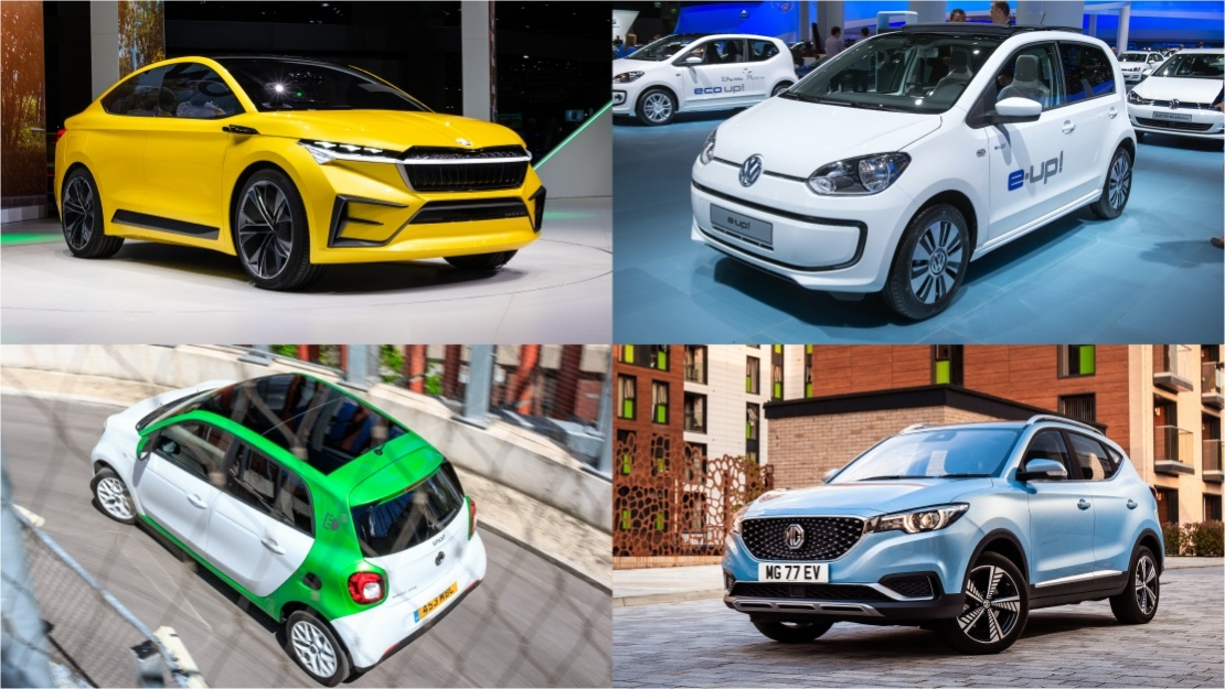 Collection of cheapest electric cars