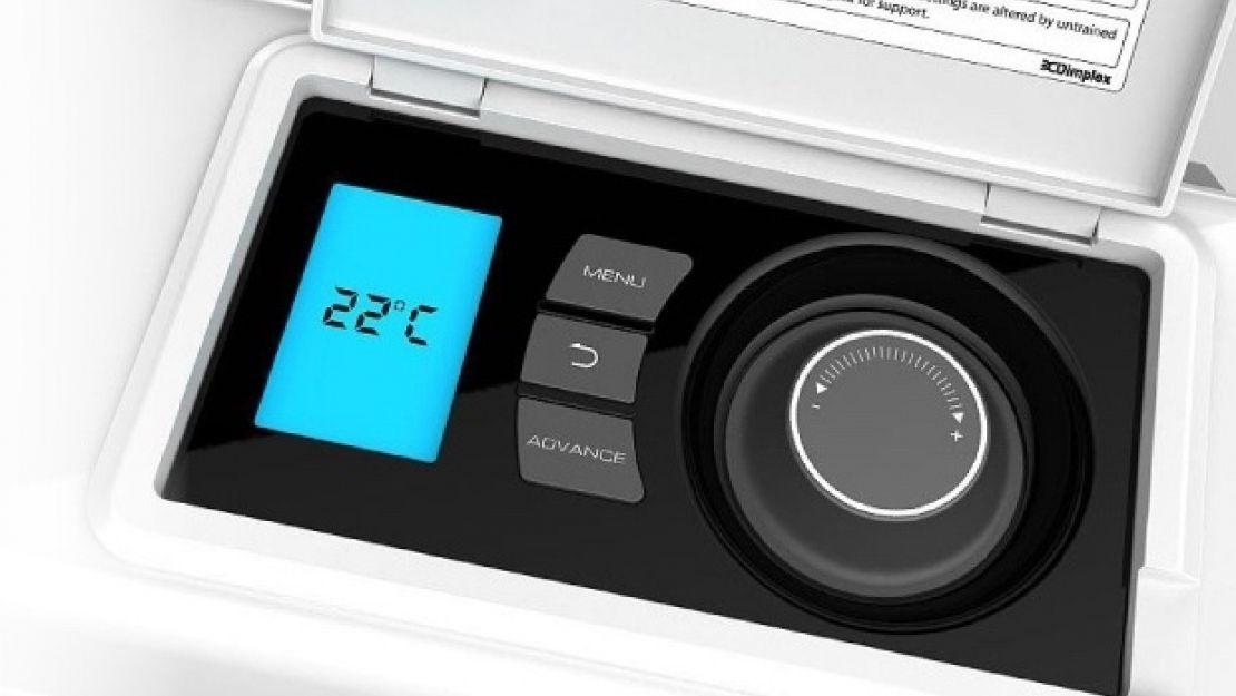 Dimplex quantum storage heater digital IQ control panel