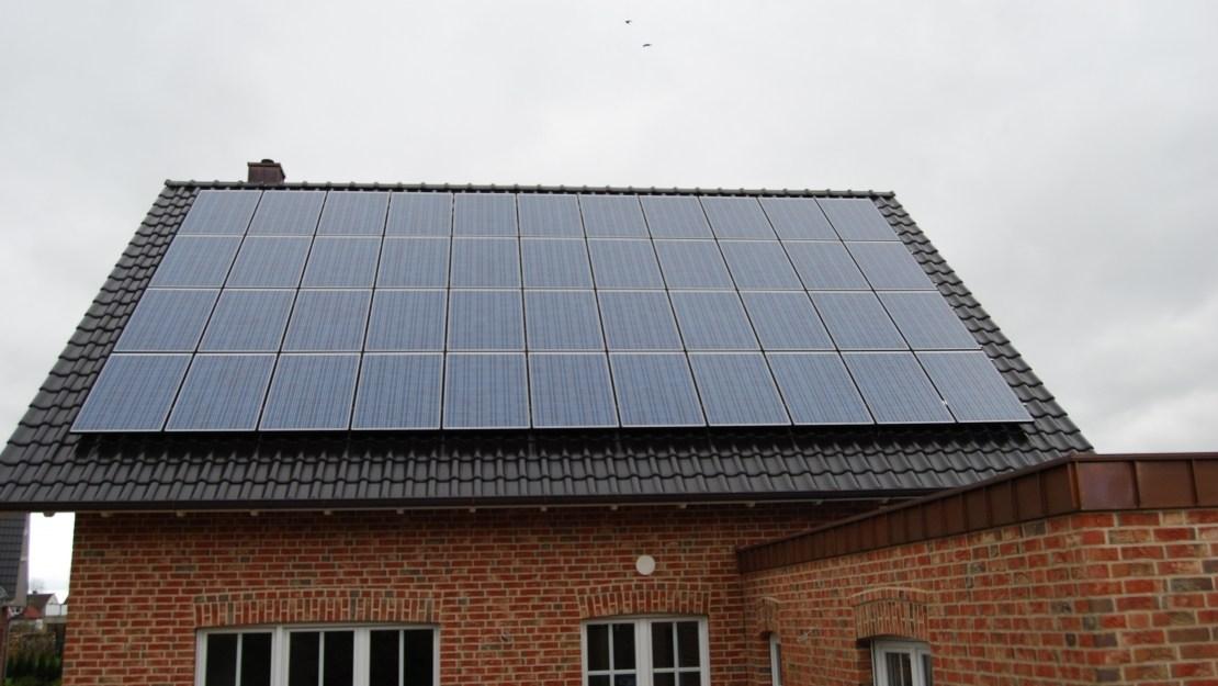 Large solar PV installation