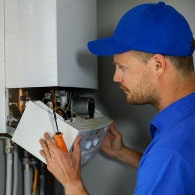 boiler emergency service repair man
