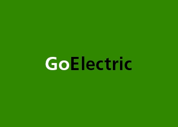GoElectric logo on a green background
