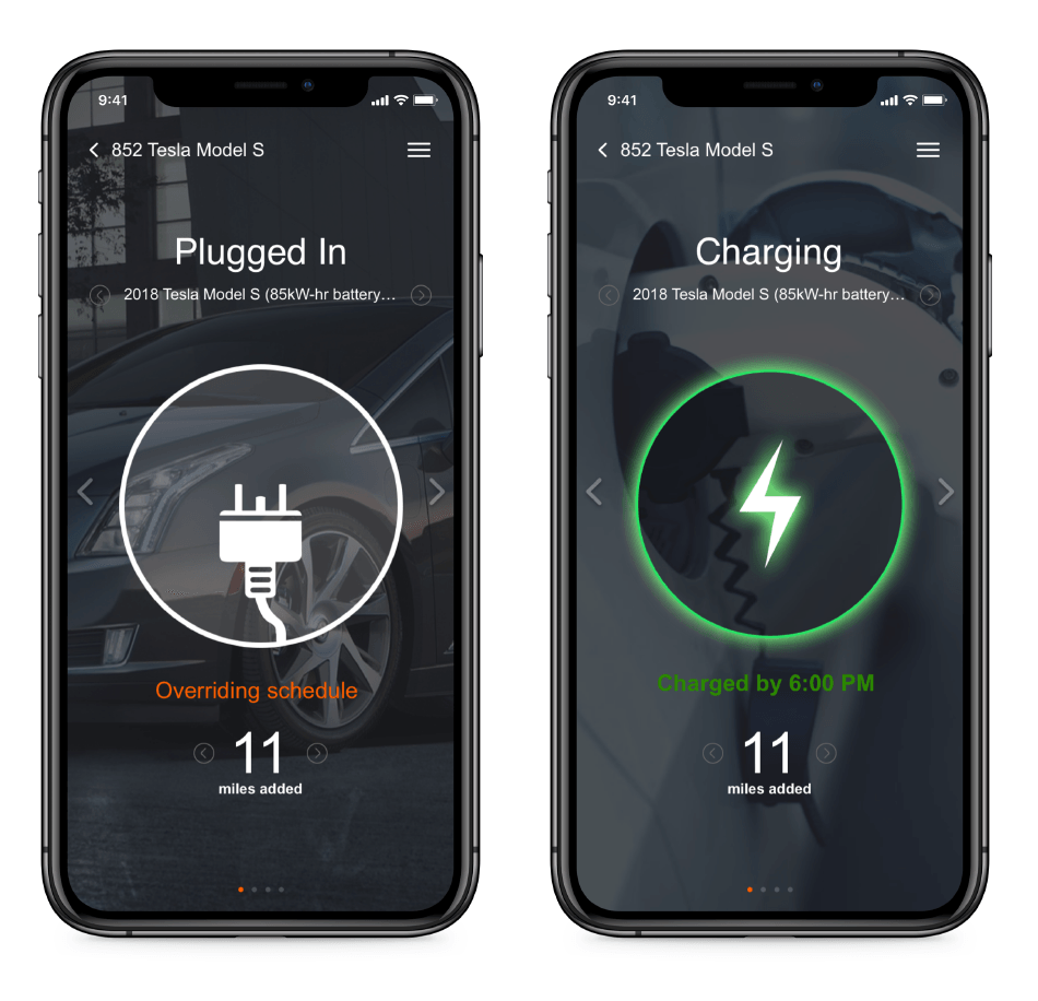 GoElectric Mobile App Screenshots for Electric Vehicles