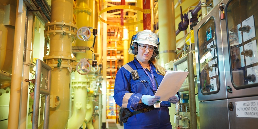 Engineer at a nuclear power plant