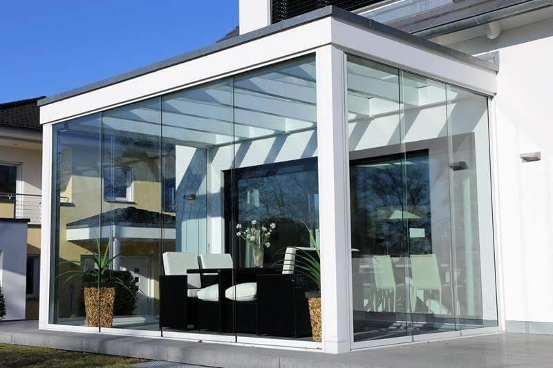 modern conservatory exterior