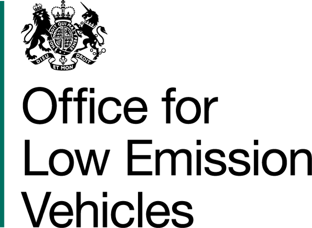Office for Low Emission Vehicles (OLEV) logo