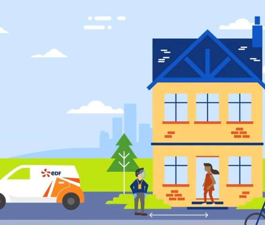 EDF Smart Meter Installation keeping you safe